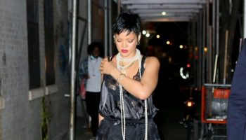 rihanna-wears-vaquera-lace-dress-out-in-new-york-city