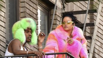 aap-rocky-rihanna-wears-louis-vuitton-by-virgil-abloh-on-set-of-a-music-video-in-nyc