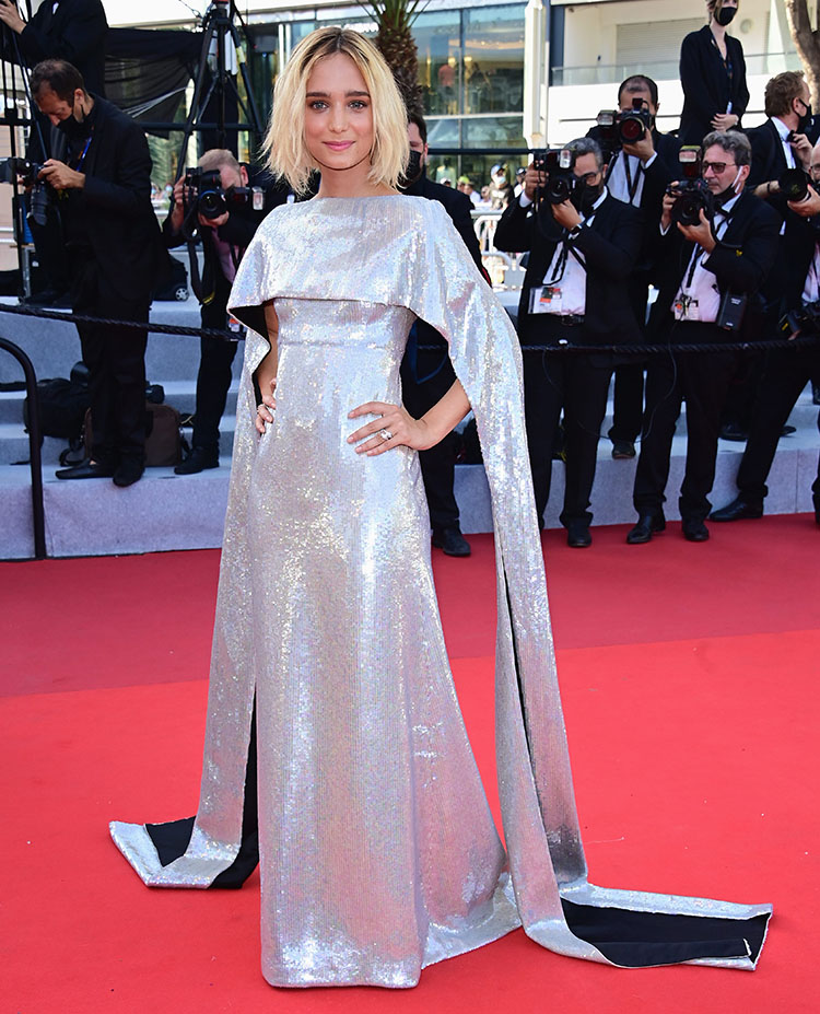 denise-tantucci-wore-gucci-the-french-dispatch-cannes-screening