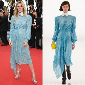 honor-swinton-byrne-wore-gucci-the-french-dispatch-cannes-film-festival-screening