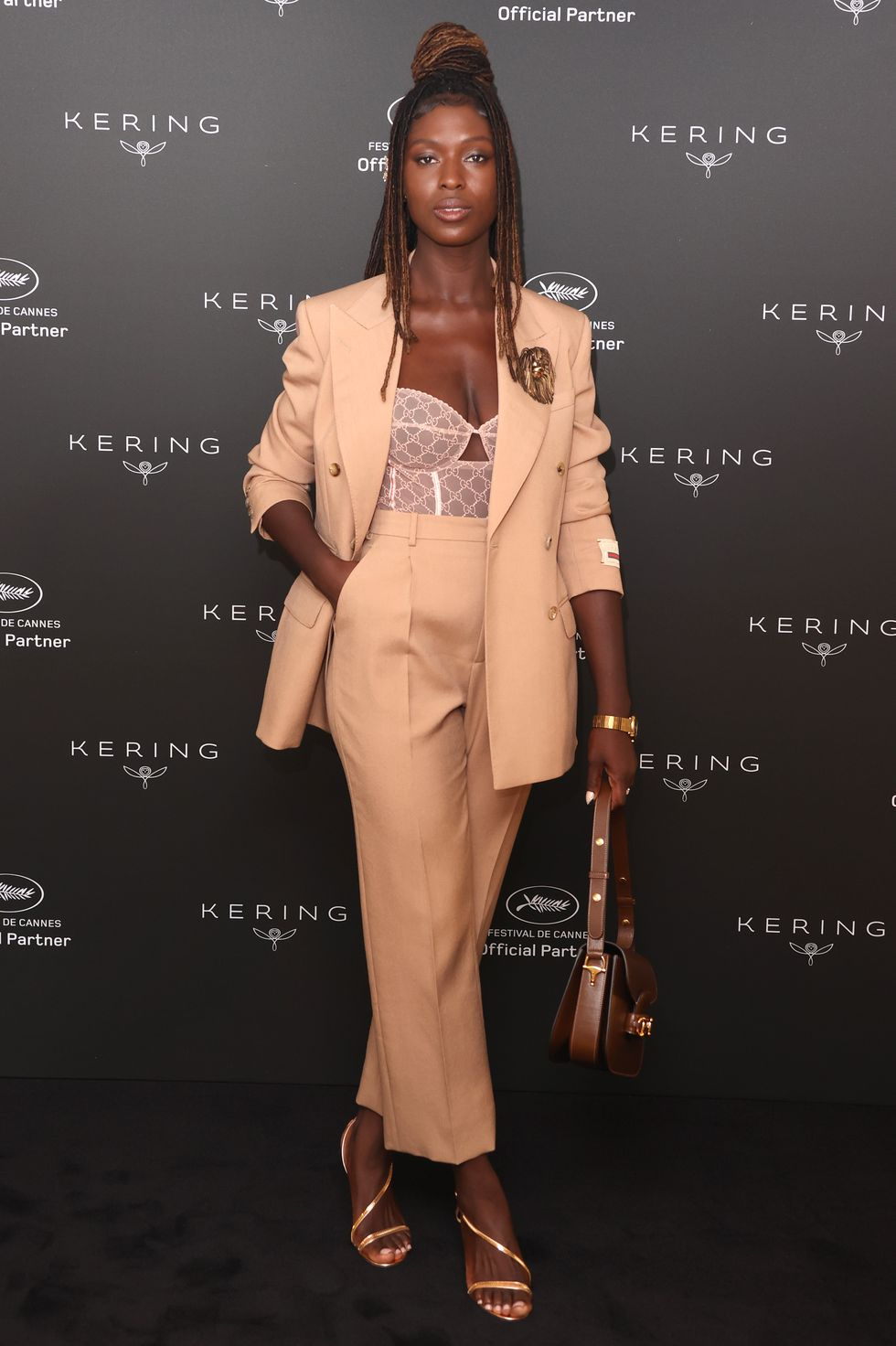 jodie-turner-smith-wore-gucci-suit-kering-women-in-motion-awards-in-cannes
