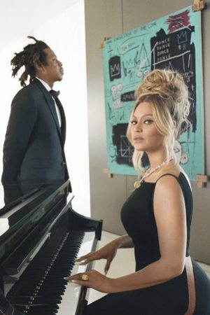beyonce-and-jay-z-pose-with-a-never-before-seen-painting-by-jean-michel-basquiat-in-a-new-campaign-for-tiffany-co