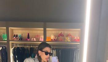 hailey-bieber-wore-magda-butrym-blazer-instagram-story-august-26-2021