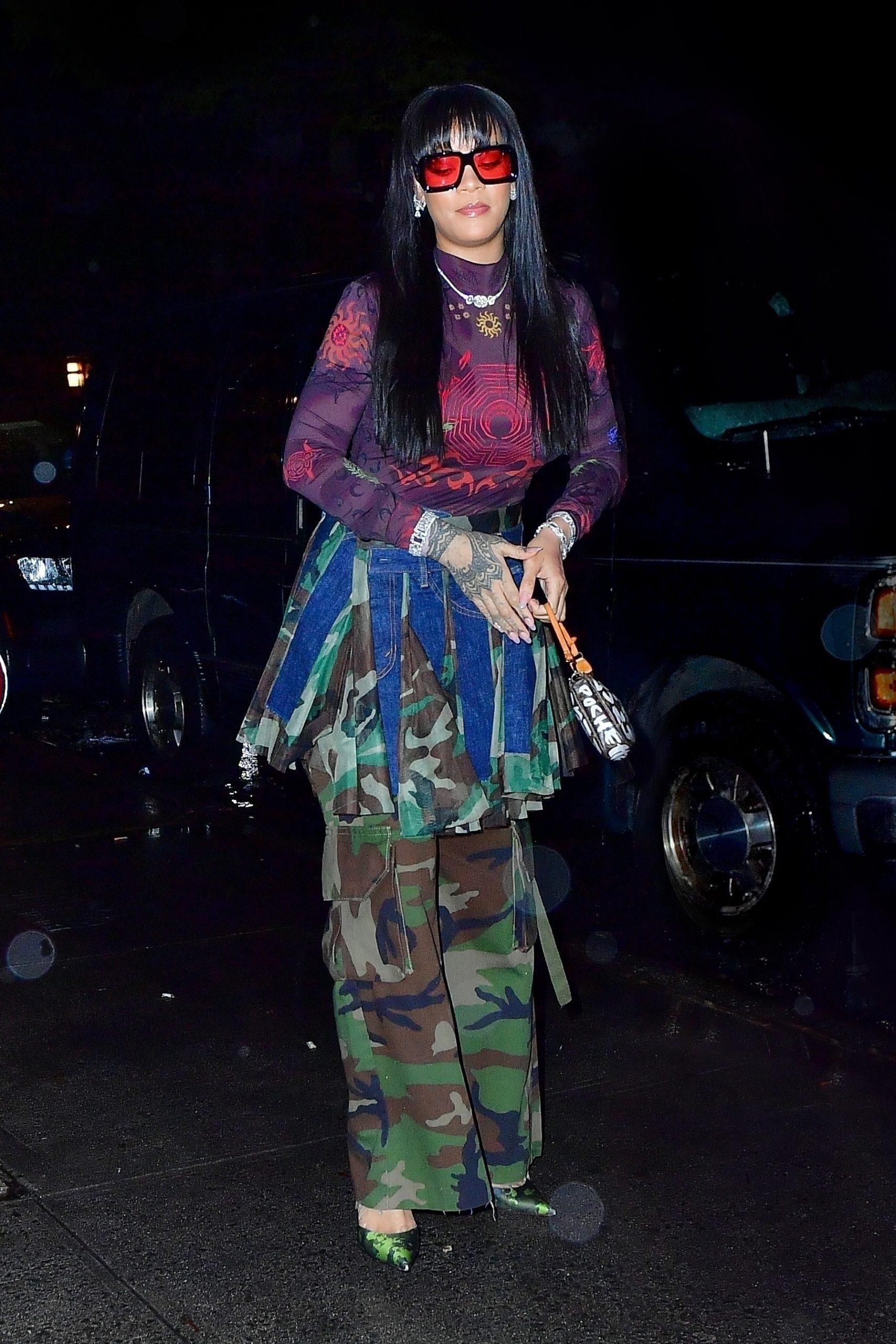 rihanna-in-junya-watanabe-camo-skirt-out-in-new-york-city-september-23-2021