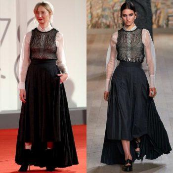 alba-rohrwacher-wore-christian-dior-haute-couture-the-lost-daughter-venice-international-film-premiere