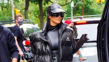 kim-kardashian-prepares-for-snl-hosting-wearing-balenciaga-puffer-vest