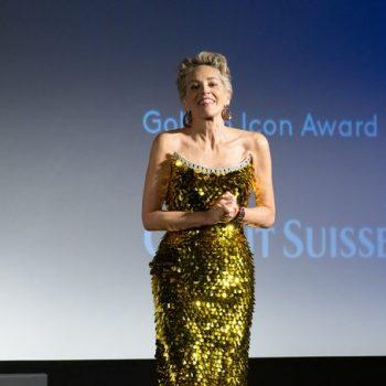 Sharon Stone Wore Dolce & Gabbana