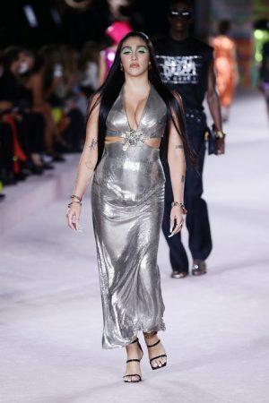 lourdes-maria-ciccone-leon-walking-the-runway-versace-milan-fashion-week-spring-summer-2022