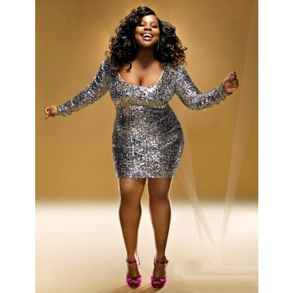 amber-riley-apple-shape
