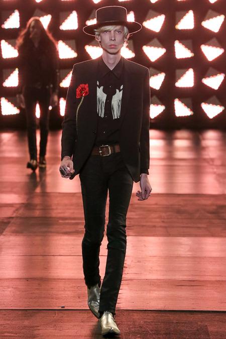 Saint -Laurent-Spring- 2015 -Menswear
