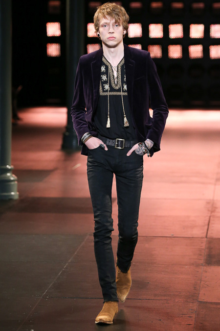 Saint -Laurent-Spring- 2015 -Menswear