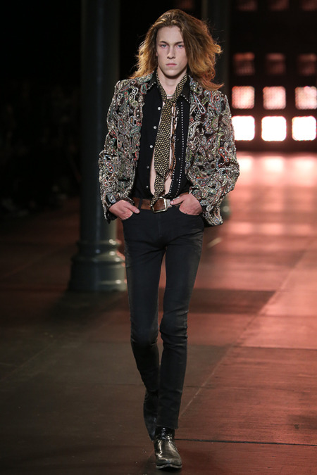 Saint Laurent Spring 2015 Menswear