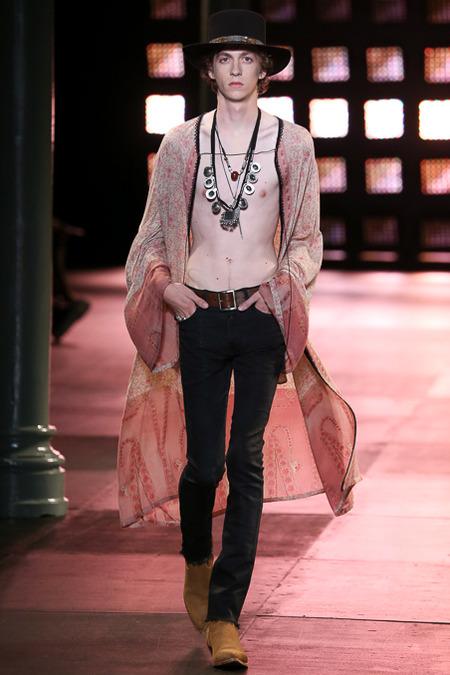 Saint Laurent Spring 2015 Menswear