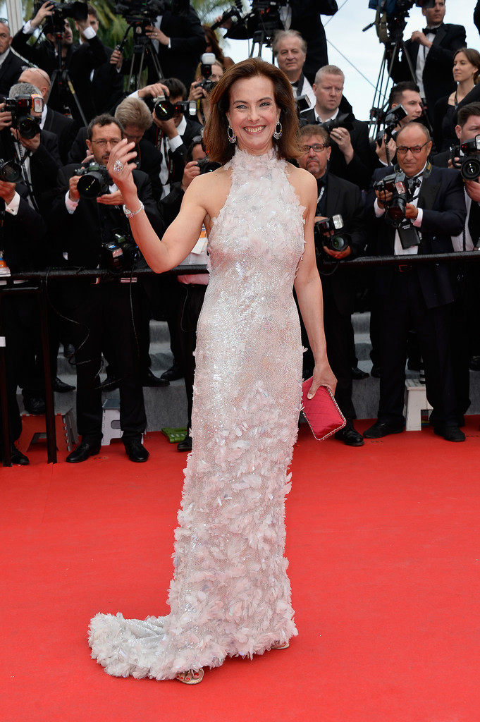 Carole Bouquet in Chanel Couture spring 2014