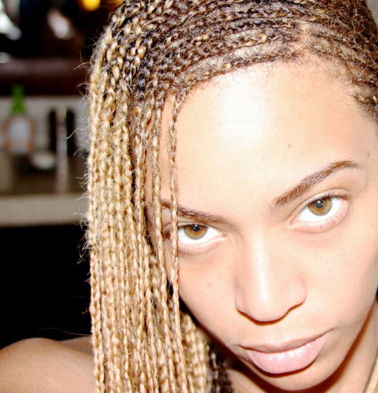 Carters Hamptons3 Beyonce in Braids