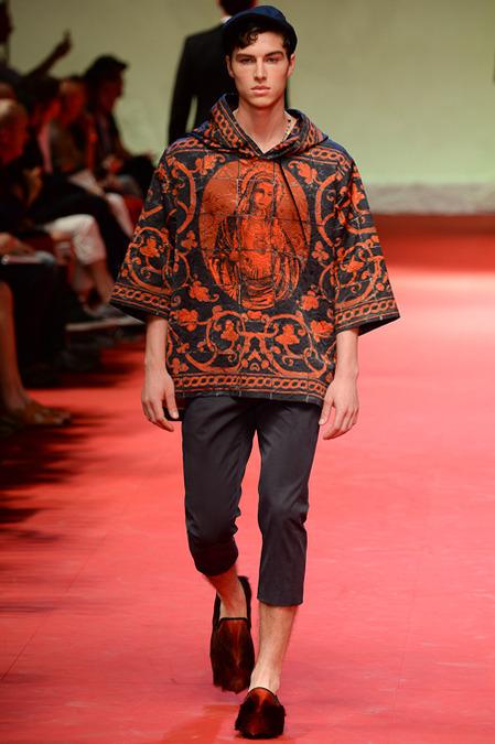 Dolce & Gabbana-Spring-2015 -Menswear