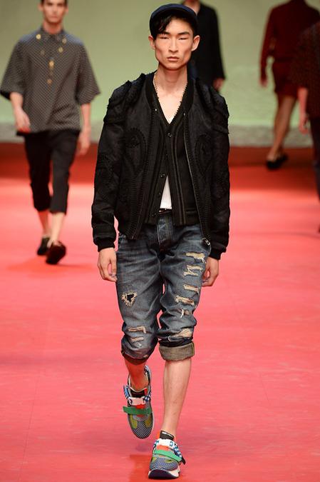 """""""Dolce & Gabbana-Spring-2015 -Menswear"""
