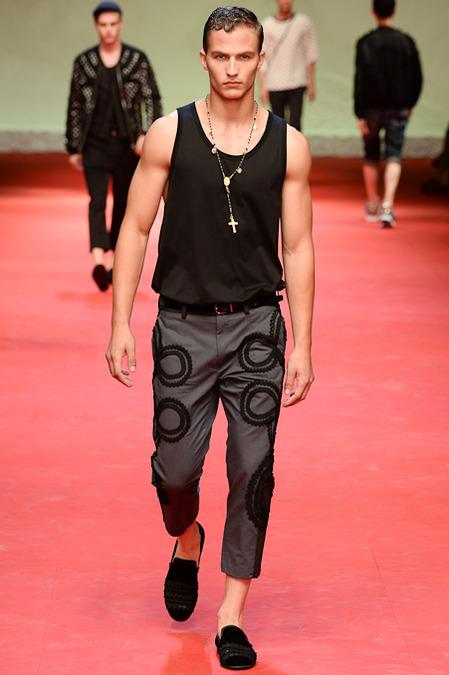 """""""Dolce & Gabbana Spring 2015 Menswear"""