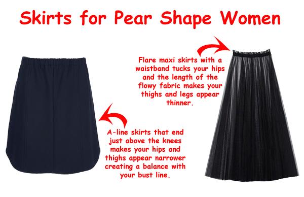 How to dress a pear shape body