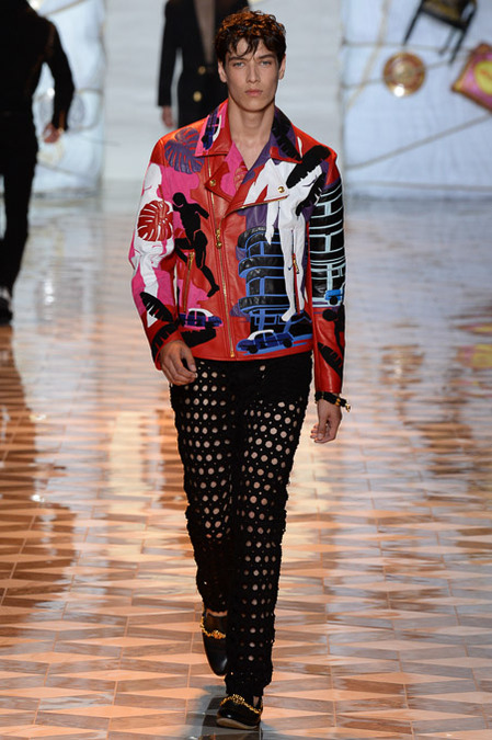 Versace-spring -2015 -Menswear