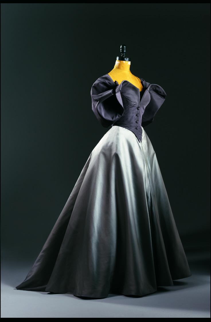 Charles James, American. Ball Gown with Jacket, c. 1950, silk taffeta, duchess silk satin and silk taffeta.