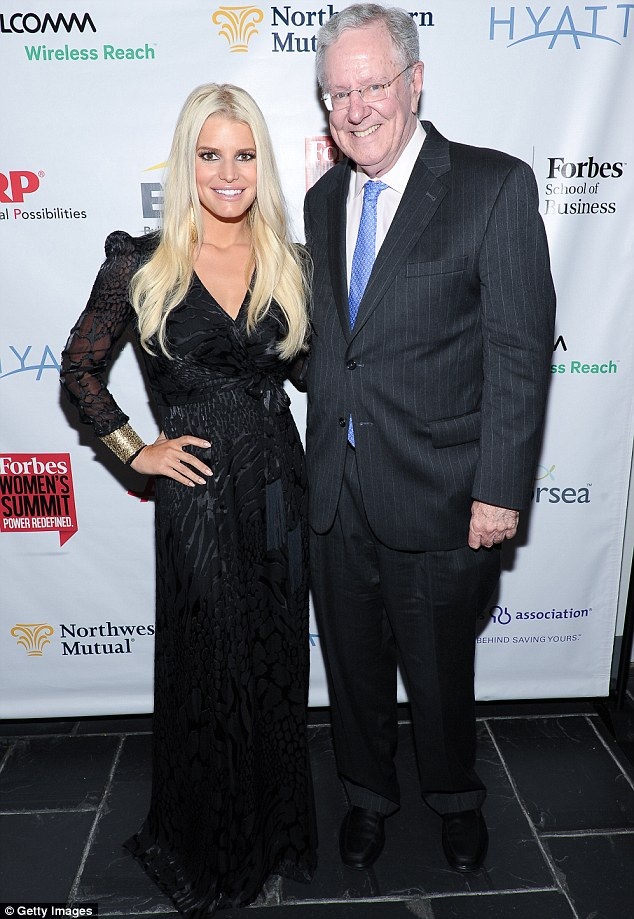jessica-simpson-and steve-forbes-at-power-women-summit