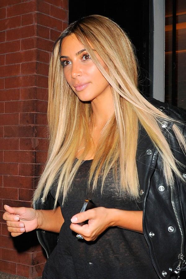kim-kardashian-blonde- hairstyle
