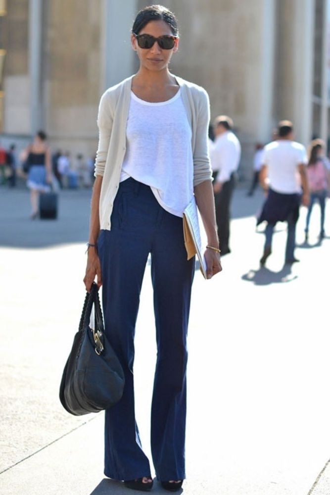 Image result for flared jeans with T-shirt