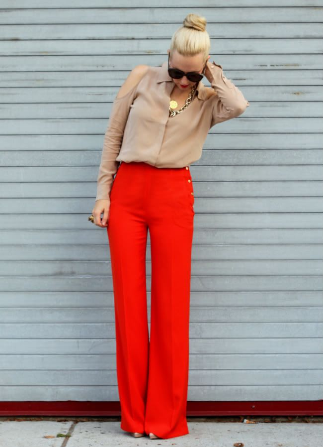 how-to-wear-flared-pants