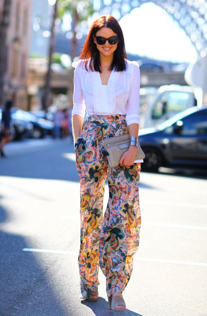 printed-flared-pants