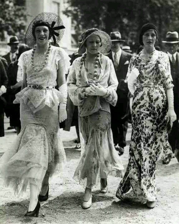 1930s fashion. Paris