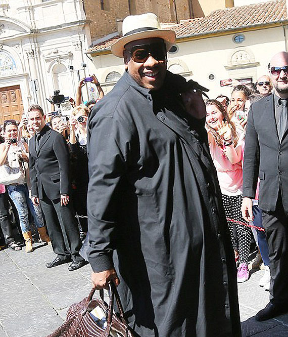 Former American Vogue's editor-at-large Andre Leon Talley