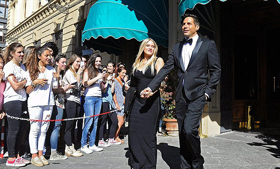 Girls Gone Wild owner Joe Francis and his pregnant girlfriend Abbey Wilson