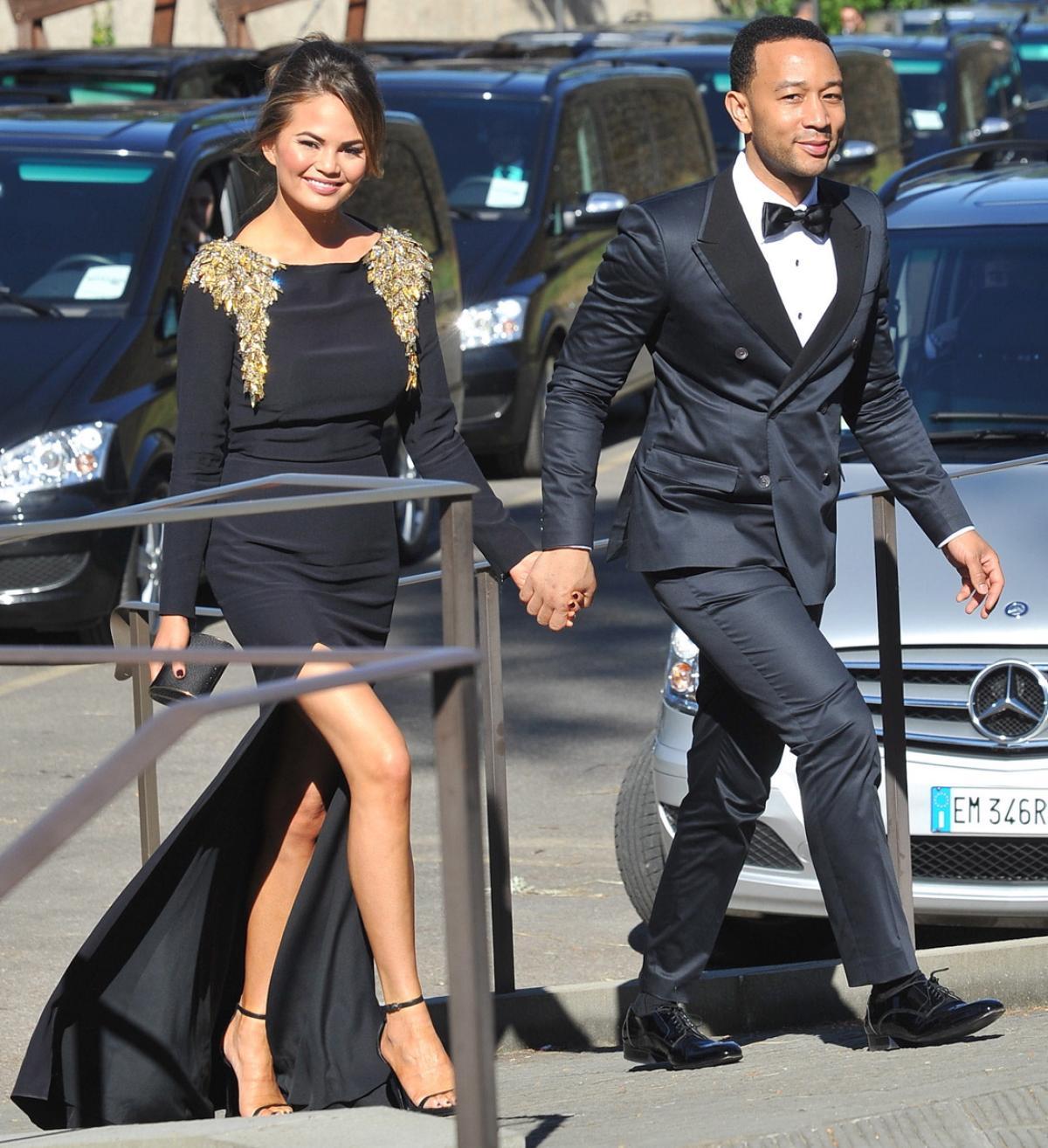 John Legend and Chrissy Teigen w