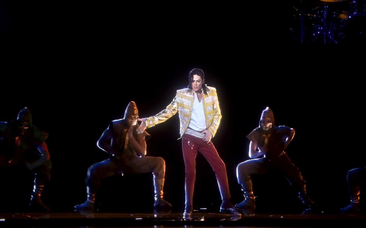 Michael Jackson holographic performance