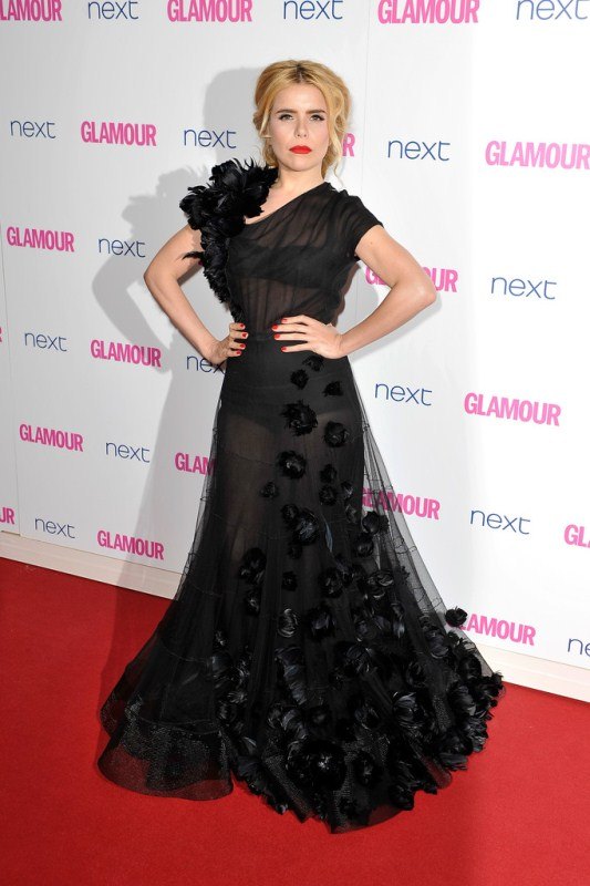 Paloma Faith in Nicholas Oakwell Fall 13 Couture at The Women of Glamour Awards