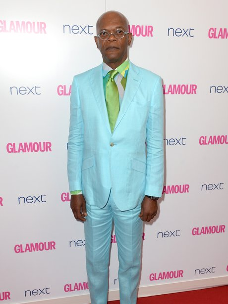 Actor Samuel L. Jackson attends the Glamour Women of the Year Awards