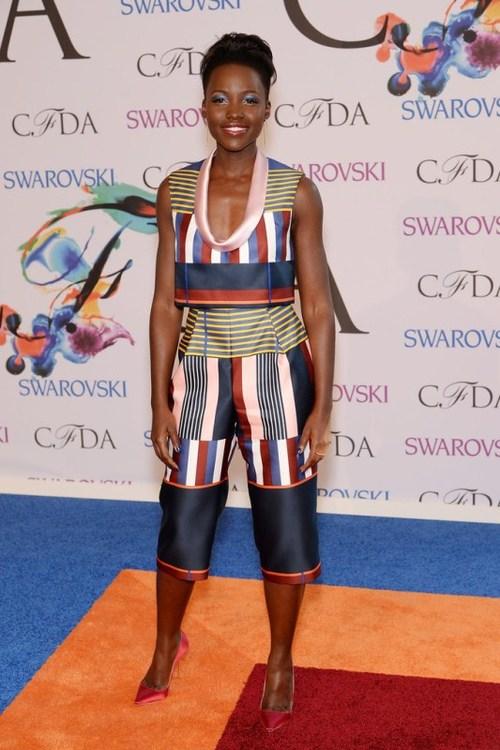 Lupita Nyongo'o in Suno at the CDFA awards,